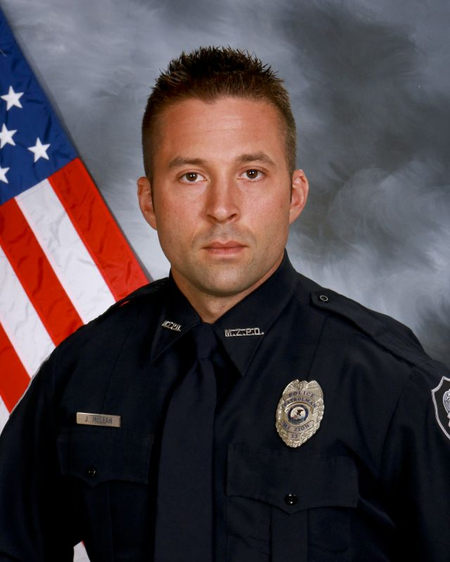 K-9 Officer Jeremy McLean